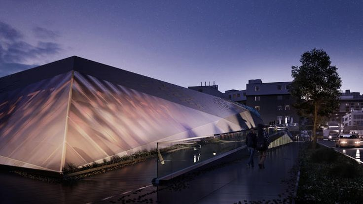7 | World's Coolest Electrical Substation Has A Track And A Dog Park | Co.Design | business + design