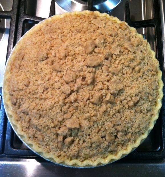 And the winner is.....Apple pie crumb topping recipe. Coming to you for Thanksgiving 2013