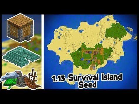 minecraft survival island download 1.13