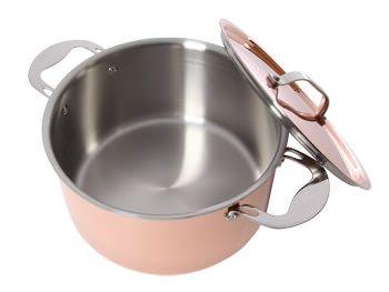 ProWare Copper Tri-ply 24cm Stock Pot