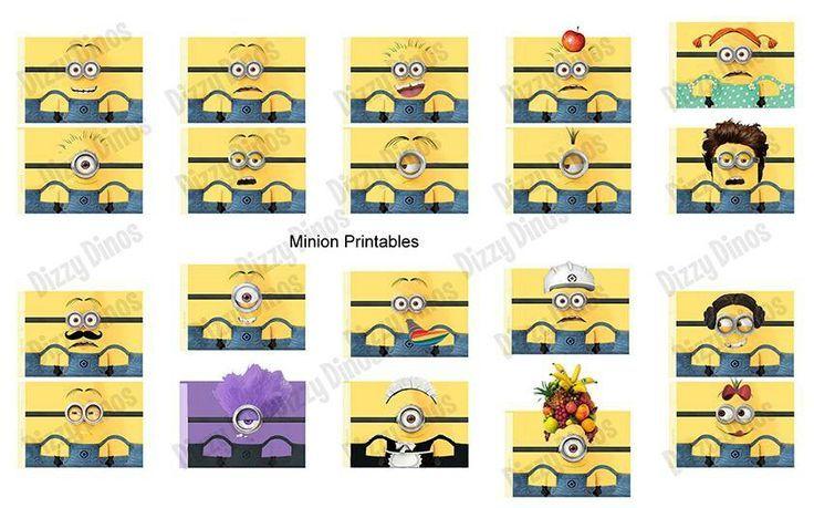 Twinkie Minion Printable | Minion Printables Minion printables