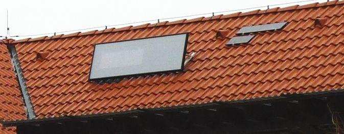 SolarVenti unit on tile roof #solarventiau #solarventi #solair