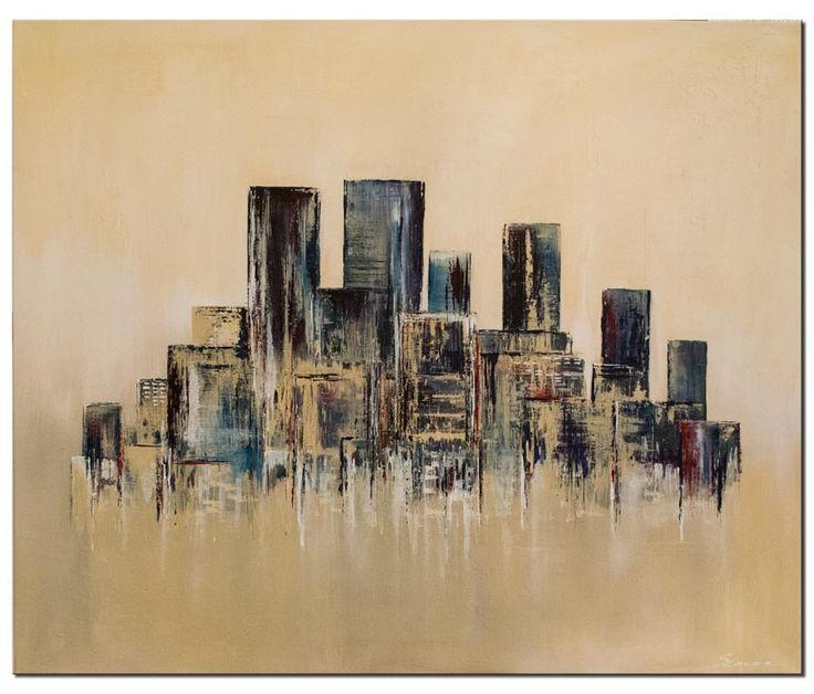67 besten abstrakte acrylbilder handgemalt bilder auf - Abstrakte wandbilder ...