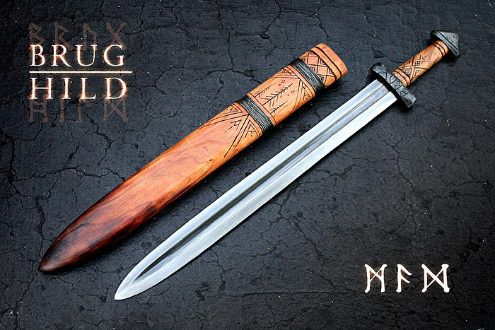 Hand-forged Nordic Sword | Manly Things | Pinterest ...