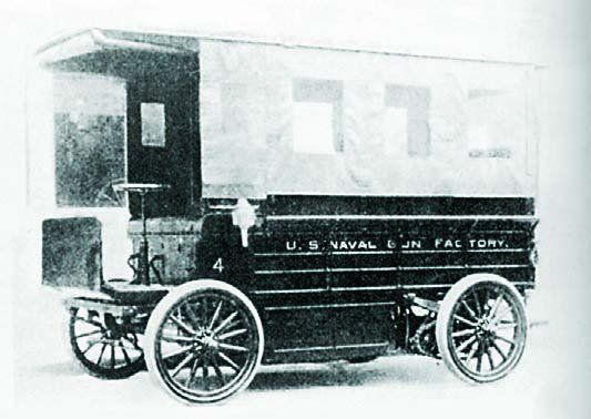 1911 Studebaker electric car