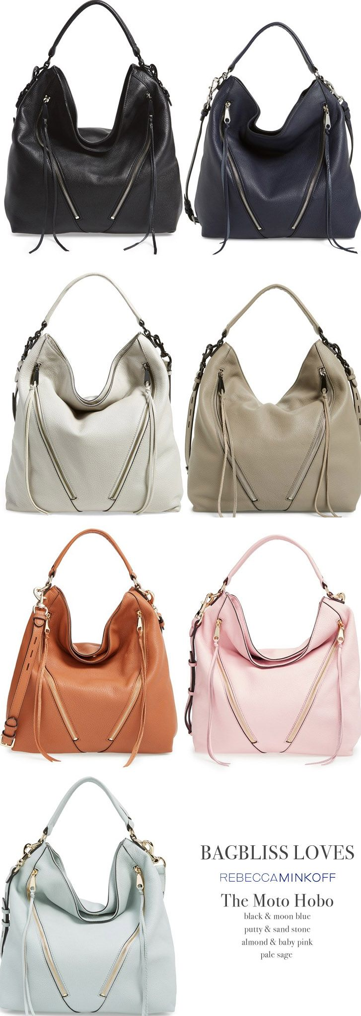 Everyday Chic Handbag: Rebecca Minkoff Moto Hobo Bag
