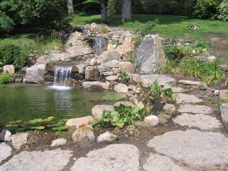 Petite et simple cascade destin e un lieu calme et for Amenager petit jardin 50m2