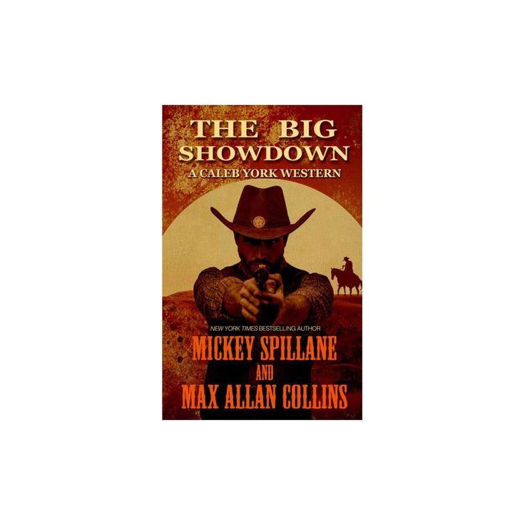 Big Showdown (Large Print) (Hardcover) (Mickey Spillane & Max Allan Collins)