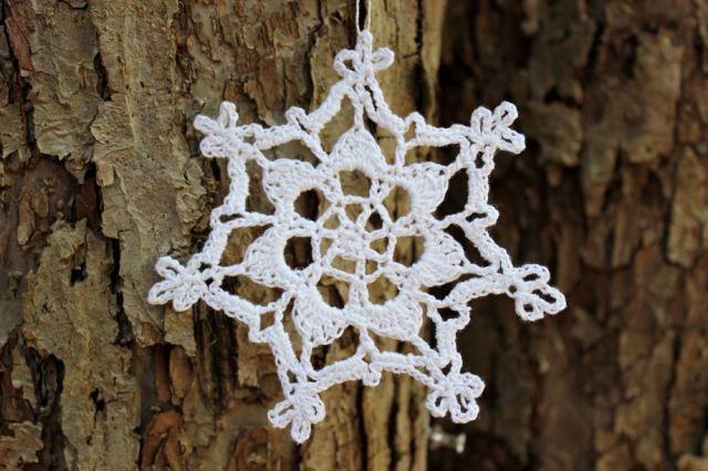 Crocheted Snowflakes