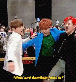 Seria meu sonho Hobi e Bammie juntos? ❤ (e esses movimentos do menino Jeon Jungkook?)