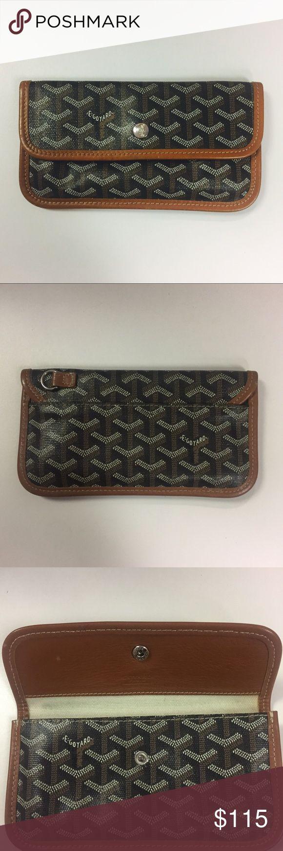 Authentic Goyard pouchette wallet 👌 Great condition👍 submit offers! Goyard Bags Wallets