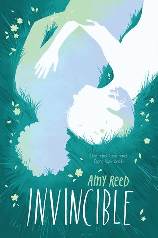 Cover Reveal: Invincible by Amy Reed  -On sale April 28th 2015 by Katherine Tegen Books -Evie is living on borrowed time. She was diagnosed with terminal cancer several months ago and told that by now she'd be dead. Evie is grateful for every extra day she gets, but she knows that soon this disease will kill her. Until, miraculously, she may have a second chance to live.