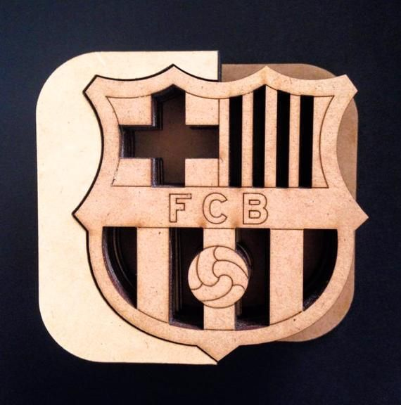 "Black /""FC BARCELONA/"" License Plate Frame Custom Made of Powder Coated Metal"