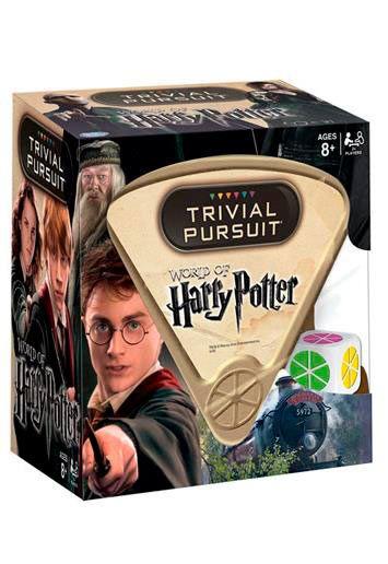 Juego de mesa Trivial Pursuit Harry Potter, Edición en inglés Juego de mesa Trivial inspirado en la saga Harry Potter en su versión en inglés.