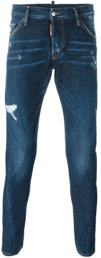 Dsquared2 tapered jeans