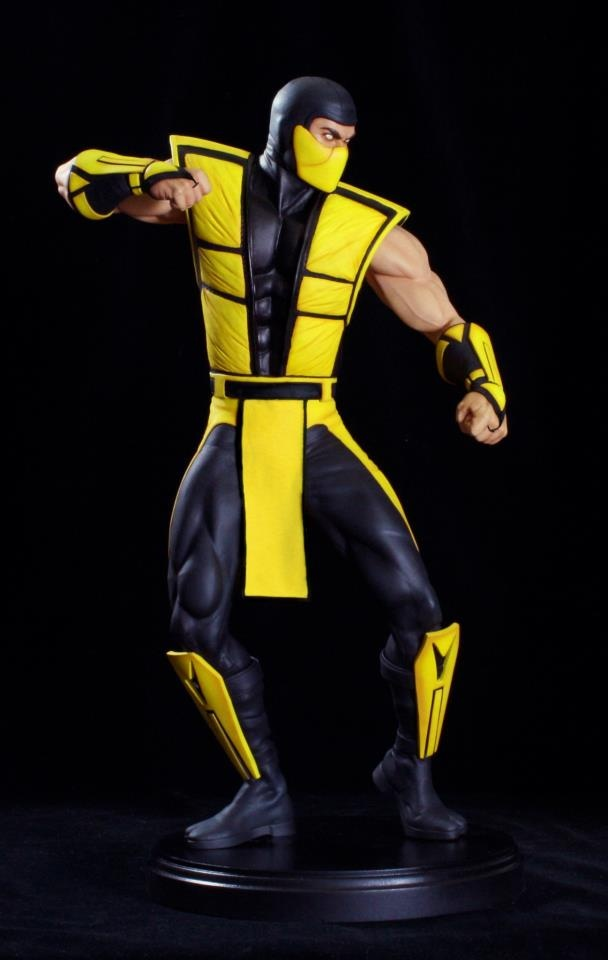 [POP CULTURE SHOCK] Ultimate Mortal Kombat 3: Scorpion Klassic Statue