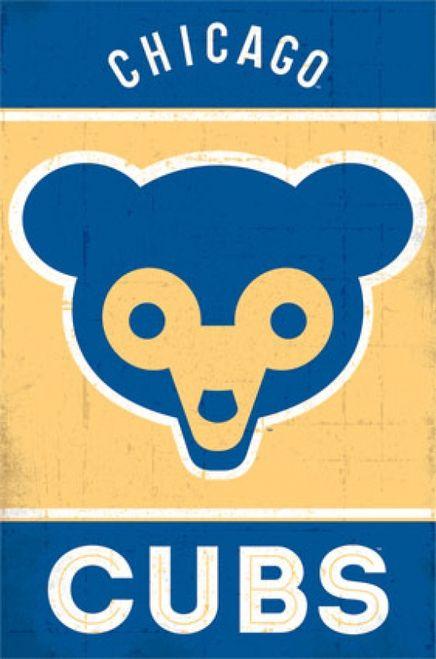 Chicago Cubs - Retro Logo 2014 Poster Print (24 x 36) - Item # TIARP13186 - Posterazzi
