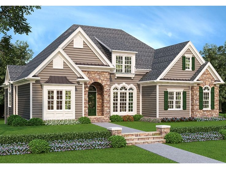 eplans french country house plan rustic woodsy charm 2616 square feet and 4 bedrooms from eplans house plan code