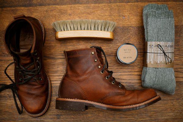 Chippewa Service Boot - Renegade Tan