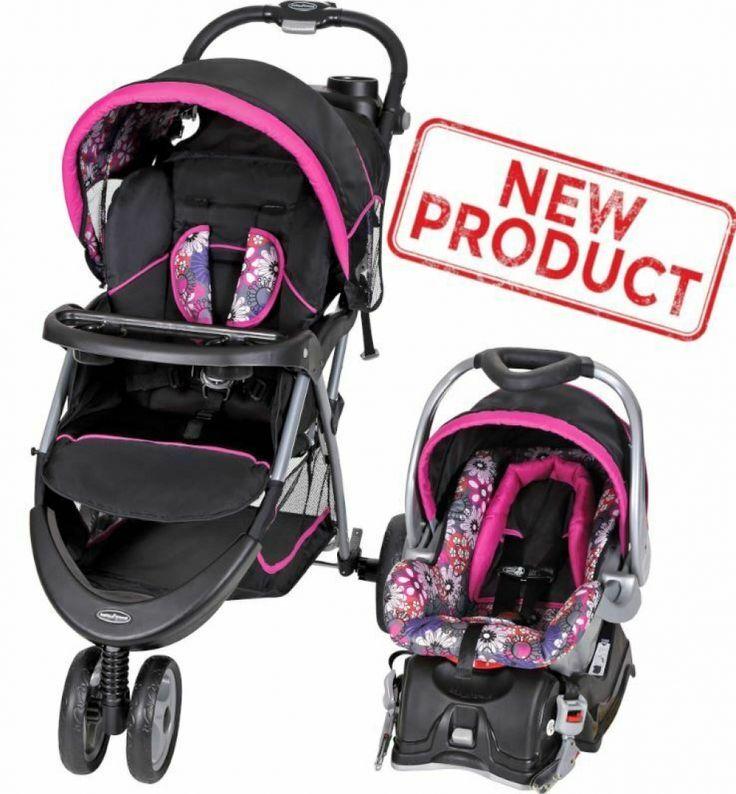 Baby stroller car seat combo walking girl toddler travel