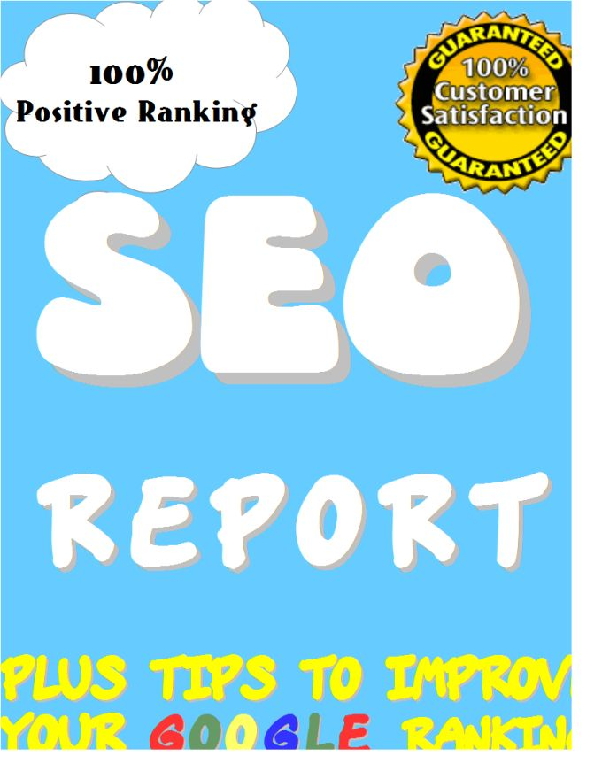 make expert SEO Report with Competitor Website Analysis by wesynerge