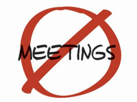 """Introduce a """"No Meetings"""" Day - Increase Productivity. Blog by @Helen Winder  #Sunzu"""
