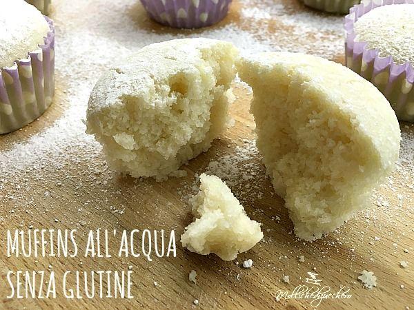 muffins all'acqua senza glutine