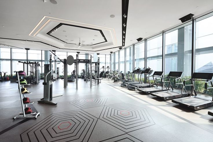 This exclusive gym in Singapore uses both social and technological incentives to keep executives working out.