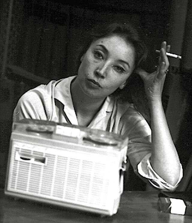 Oriana Fallaci in una foto del 5 luglio 1963 (Ansa)