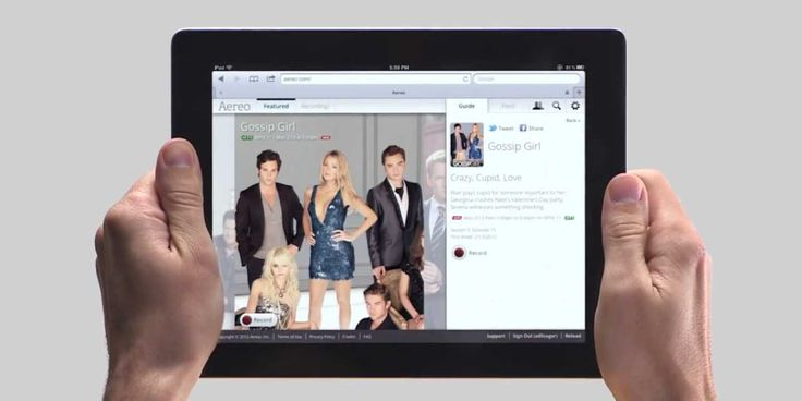 A Look At Aereo: The Live Internet TV That's Scaring The Pants Off Broadcasters