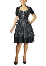 """@Katie Dattalo - This has you and your """"sassy pants"""" moments written all over it.Double Skirted Polka-dot Dress"""