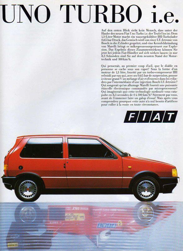 Fiat Uno Turbo i.e. (1985)