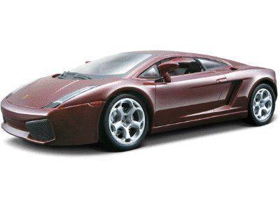 Bburago 2011 Bijoux 1:24 Scale Metallic Dark Red Lamborghini Gallardo By  Bburago. $16.83. Detailed Interior. Pre Painted Die Cast Body. Coloured  Plastic ...