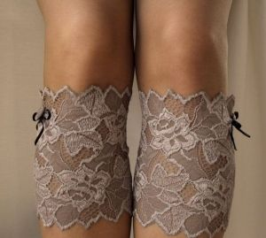 Lace Boot Cuff Socks by Eva