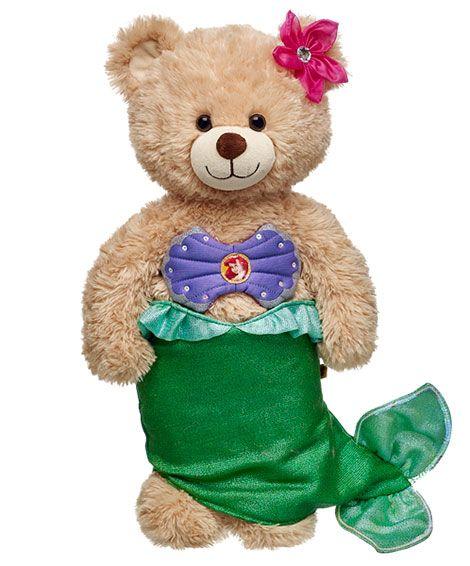 Ariel Costume 3 pc. | Build-A-Bear | Under the Sea ...