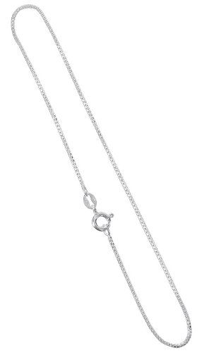 anklet com infinity long to silver bracelets quot ankle dp sterling amazon