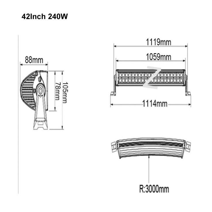Honzdda 240w 42Inch Led Light Bar 12V RGB Halo Ring 300 Flashing Modes by RF Remote Controller Halo Ring Led Strobe Light Bar , https://myalphastore.com/products/honzdda-240w-42inch-led-light-bar-12v-rgb-halo-ring-300-flashing-modes-by-rf-remote-controller-halo-ring-led-strobe-light-bar/,