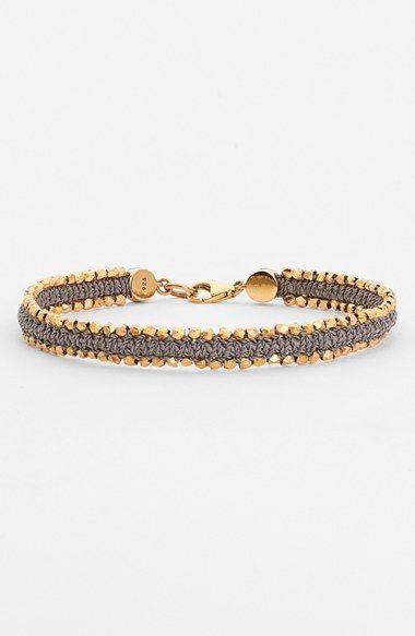 Astley Clarke 'Biography' Woven Bracelet -Nordstrom - $275? I bet I could make this!
