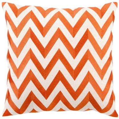 My next bedroom color scheme: Orange, White & Grey