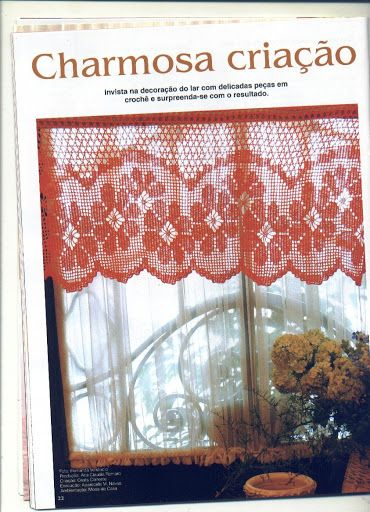 crochet - cortinas - curtains - Raissa Tavares - Álbumes web de Picasa