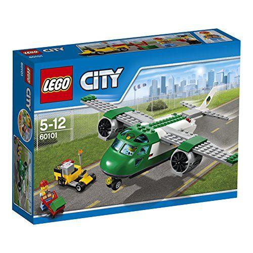 Lego City cargo airplane 60101 ** Click image for more details.