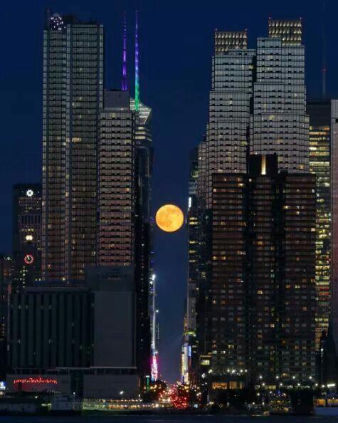 Lua Cheia em NY City