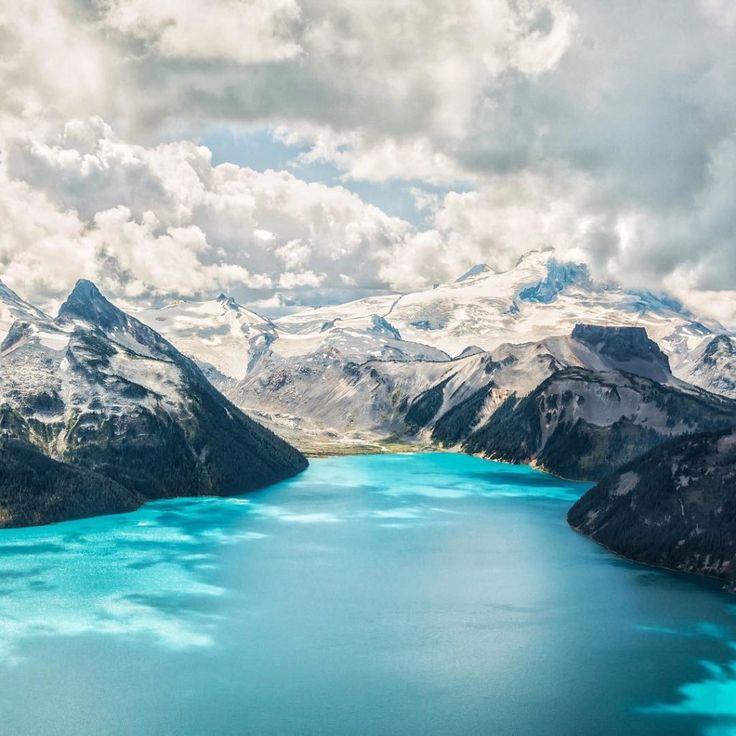 Garibaldi Lake in Garibaldi Provincial Park, near Whistler. Photo: @steveofnorth via Instagram