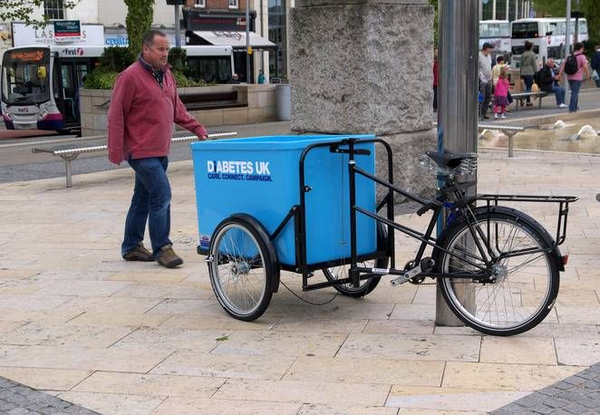 Cargo bike deliveries 'taking over' UK cities, says Guardian