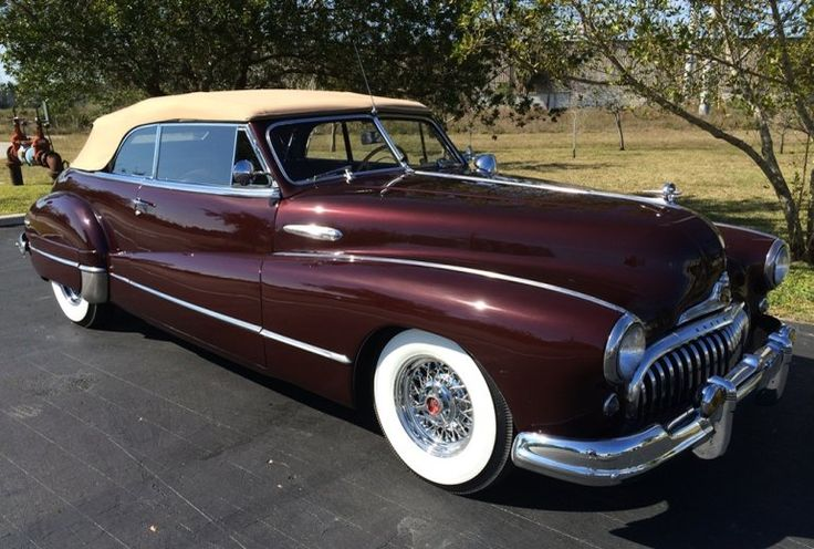 1947 Buick Roadmaster Convertible Maintenance/restoration of old/vintage vehicles: the material for new cogs/casters/gears/pads could be cast polyamide which I (Cast polyamide) can produce. My contact: tatjana.alic@windowslive.com