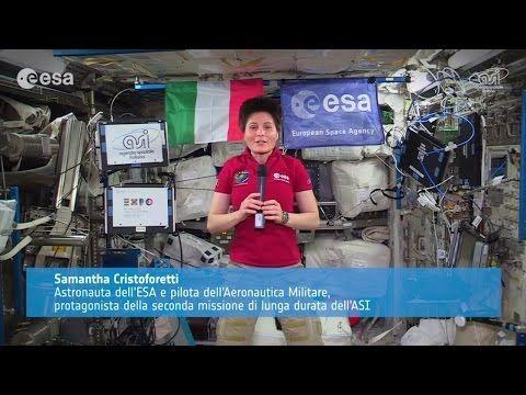 Ambassador Expo Milano 2015 Samantha Cristoforetti #Expo2015 #Milan