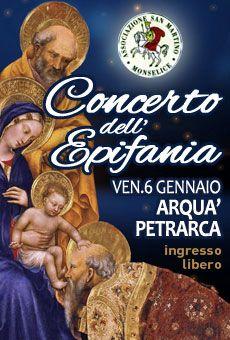Concerto dell'Epifania - Coro San Martino di Monselice. Tutti i tuoi eventi su ViaVaiNet, il portale degli eventi più consultato per il tempo libero nella provincia di Rovigo e nella Bassa Padovana