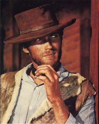 Clint Eastwood is just about the closest thing being as cool as the underside of the pillow...