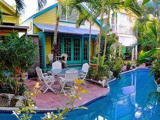Lazy River Pool and Enchanting Gardens in Old Town Key West