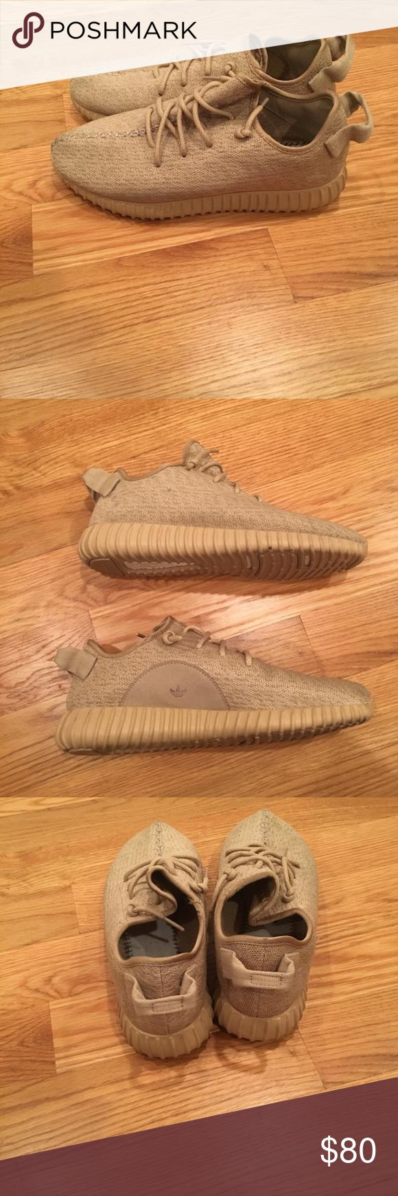 Yeezy Oxford Tan They're not real, but they're really good fakes.  They look just like the real thing.  NAME YOUR PRICE Yeezy Shoes Sneakers
